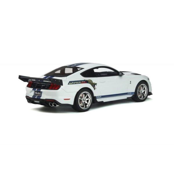 画像2: GT Spirit 1/18 Shelby GT500 Dragon Snake White / Blue Stripe