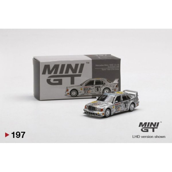 """画像1: MINI GT 1/64 Mercedes Benz 190E 2.5-16 Evolution II DTM Zolder 1992 # 6 """"Berlin"""" (LHD) China Exclusive"""