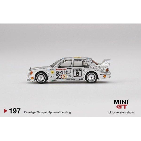 """画像4: MINI GT 1/64 Mercedes Benz 190E 2.5-16 Evolution II DTM Zolder 1992 # 6 """"Berlin"""" (LHD) China Exclusive"""