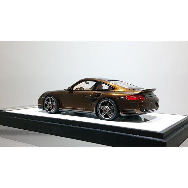 画像2: VISION 1/43 Porsche 911 (997) Turbo 2006 Metallic Brown