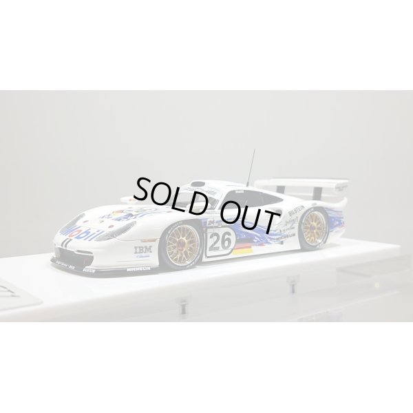 画像1: EIDOLON 1/43 Porsche 911 GT1 EVO Le Mans 24h 1997 No.26