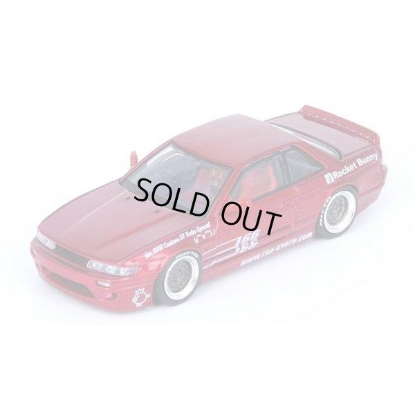 画像2: INNO Models 1/64 Nissan Silvia S13 PANEM ROCKET BUNNY V1 Red Metallic
