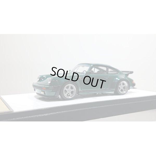 画像1: VISION 1/43 Porsche 930 turbo 1988 Dark Green (Silver wheel) Limited 60 pcs.