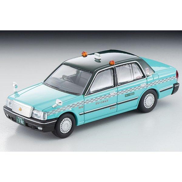 画像2: TOMYTEC 1/64 Limited Vintage NEO Toyota Crown Sedan Taxi (Green Cab)