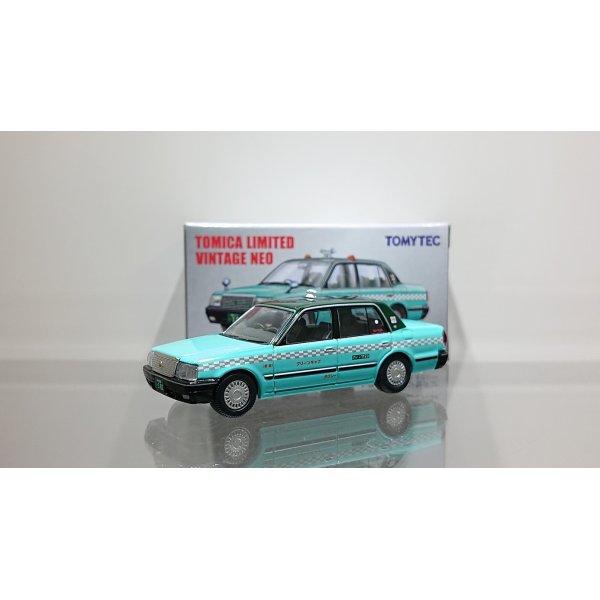 画像1: TOMYTEC 1/64 Limited Vintage NEO Toyota Crown Sedan Taxi (Green Cab)