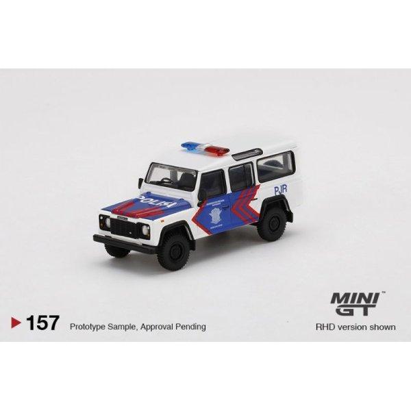 画像2: MINI GT 1/64 Land Rover Defender 110 Korlantas Polri – Indonesian Traffic Police Indonesia Exclusive