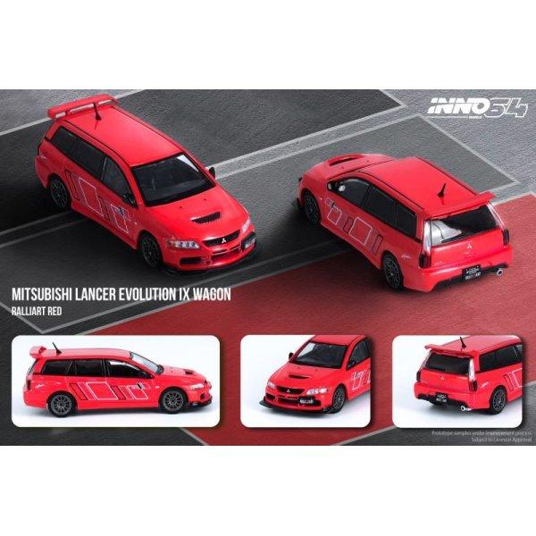 画像5: INNO Models 1/64 Mitsubishi Lancer Evolution IX Wagon 2005 Ralliart Red