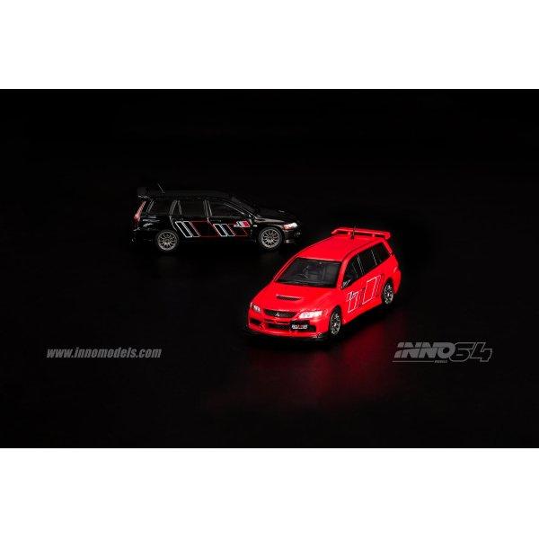 画像2: INNO Models 1/64 Mitsubishi Lancer Evolution IX Wagon 2005 Ralliart Red
