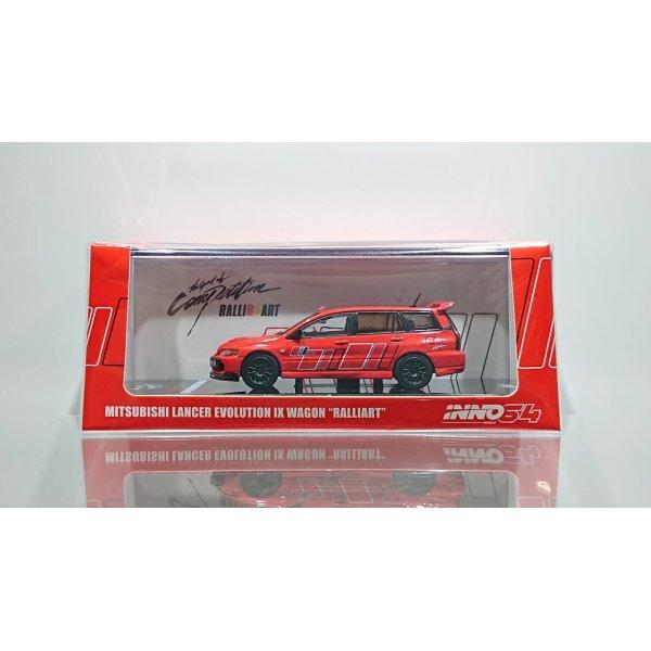 画像1: INNO Models 1/64 Mitsubishi Lancer Evolution IX Wagon 2005 Ralliart Red