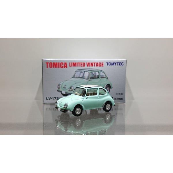 画像1: TOMYTEC 1/64 Limited Vintage Subaru 360 (Light Green) '61