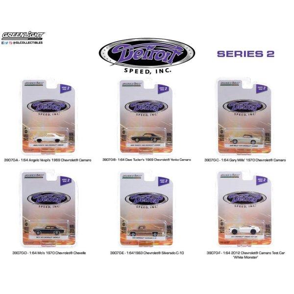 画像1: GREEN LiGHT 1/64 Detroit Speed, Inc. Series 2