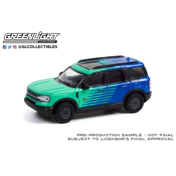 画像2: GREEN LiGHT EXCLUSIVE 1/64 2021 Ford Bronco Sport --Falken Tires