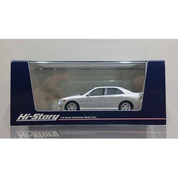 画像1: Hi Story 1/43 Toyota ALTEZZA RS200 TRD (1998) Super White 2