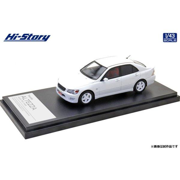 画像2: Hi Story 1/43 Toyota ALTEZZA RS200 TRD (1998) Super White 2