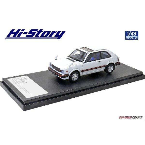 画像2: Hi Story 1/43 Honda CIVIC CX-S (1981) White