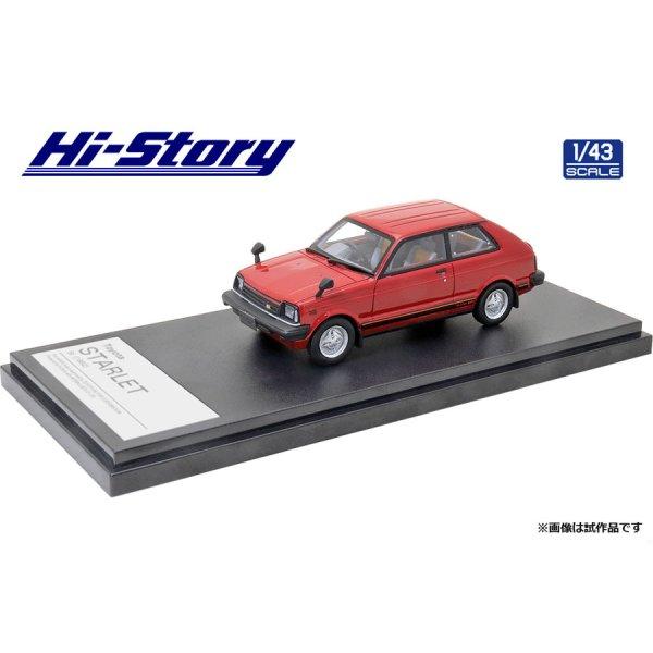 画像2: Hi Story 1/43 Toyota Starlet Si (1982) Lovely Red