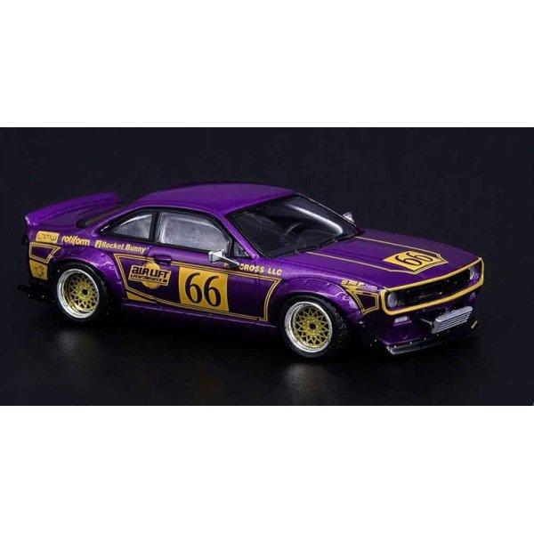画像2: INNO Models 1/64 Nissan Silvia S14 ROCKET BUNNY BOSS AERO M Purple