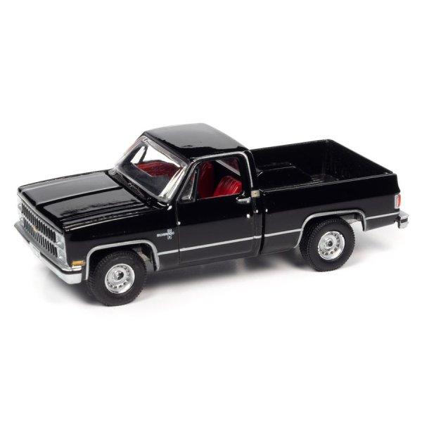 画像2: auto world 1/64 1982 Chevy Silverado 10 Midnight Black