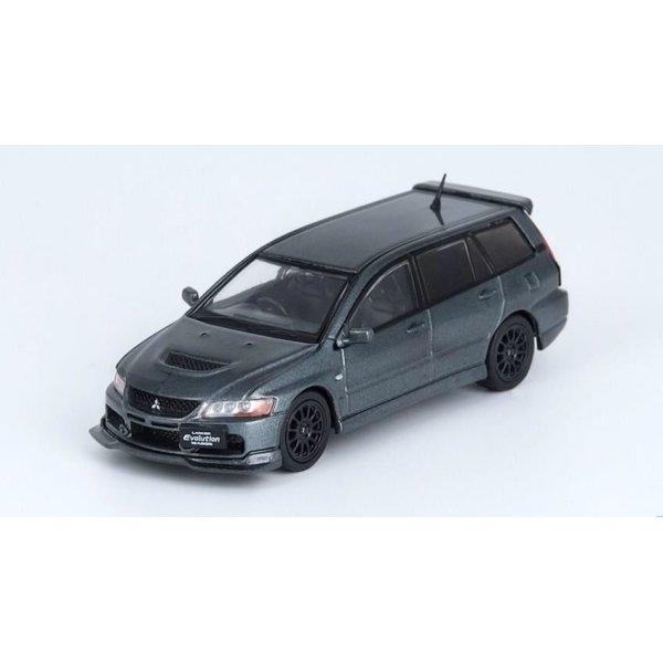 画像2: INNO Models 1/64 Mitsubishi Lancer Evolution IX Wagon Medium Purplish Gray Mica