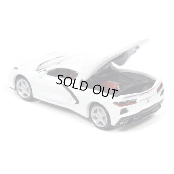 画像3: auto world 1/64 2020 Chevy Corvette Arctic White