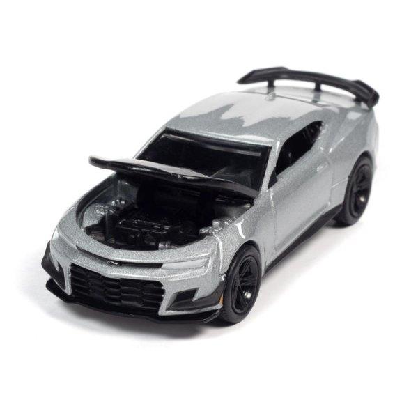 画像3: auto world 1/64 2019 Chevy Camaro ZL1 1LE Satin Steel / Black