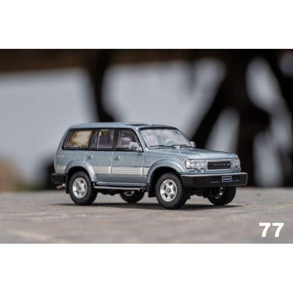 画像1: Gaincorp Products 1/64 Toyota Land Cruiser LC80 LHD Gray