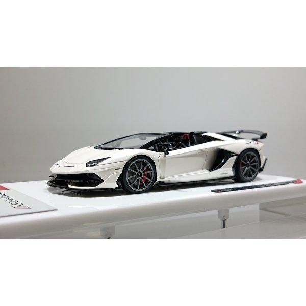 画像1: EODOLON 1/43 Lamborghini Aventador SVJ Roadster 2019 (Nireo wheel) Matte Pearl White Limited 80 pcs.