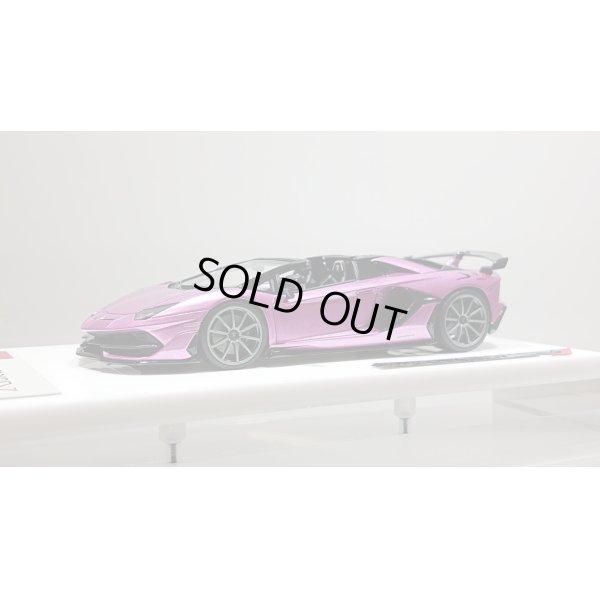 画像1: EIDOLON 1/43 Lamborghini Aventador SVJ Roadster 2019 (Nireo wheel) Viola 30th (Purple Metallic) Limited 50 pcs.