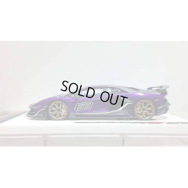 画像2: EIDOLON 1/43 Lamborghini Aventador SVJ 63 2018 Viola Pasifae Limited 63 pcs.