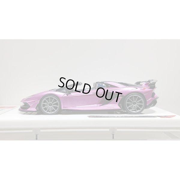 画像2: EIDOLON 1/43 Lamborghini Aventador SVJ Roadster 2019 (Nireo wheel) Viola 30th (Purple Metallic) Limited 50 pcs.