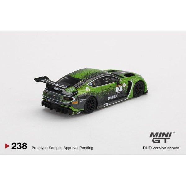 画像3: MINI GT 1/64 Bentley Continental GT3 Ricky-Molly Bathurst 12 Hours 2020 Winner #7 Bentley Team M Sport (RHD)