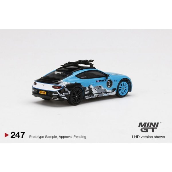 画像3: MINI GT 1/64 Bentley Continental GT GP Ice Race 2020 (LHD)
