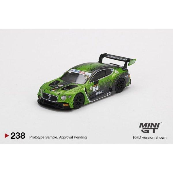 画像2: MINI GT 1/64 Bentley Continental GT3 Ricky-Molly Bathurst 12 Hours 2020 Winner #7 Bentley Team M Sport (RHD)