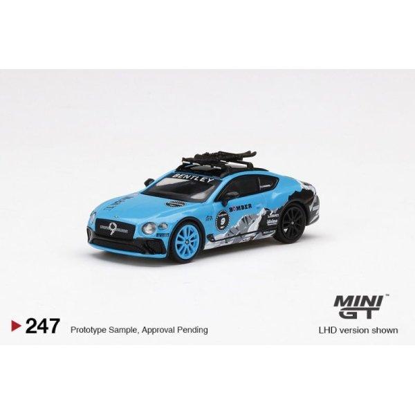 画像2: MINI GT 1/64 Bentley Continental GT GP Ice Race 2020 (LHD)