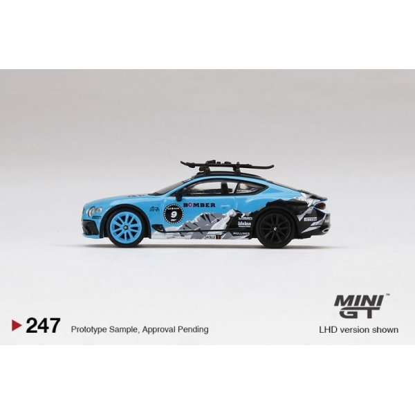 画像4: MINI GT 1/64 Bentley Continental GT GP Ice Race 2020 (LHD)