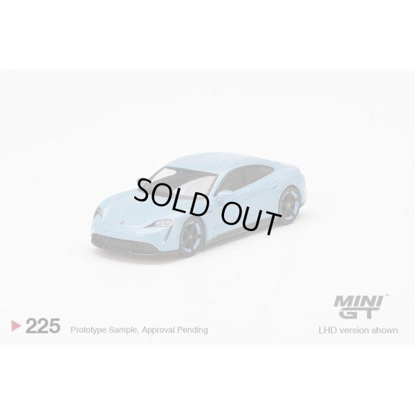 画像2: MINI GT 1/64 Porsche Taycan Turbo S Frozen Blue Metallic (RHD)
