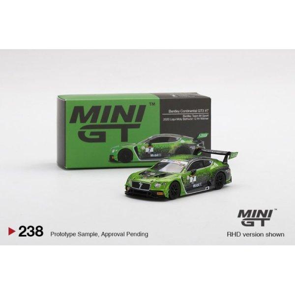 画像1: MINI GT 1/64 Bentley Continental GT3 Ricky-Molly Bathurst 12 Hours 2020 Winner #7 Bentley Team M Sport (RHD)