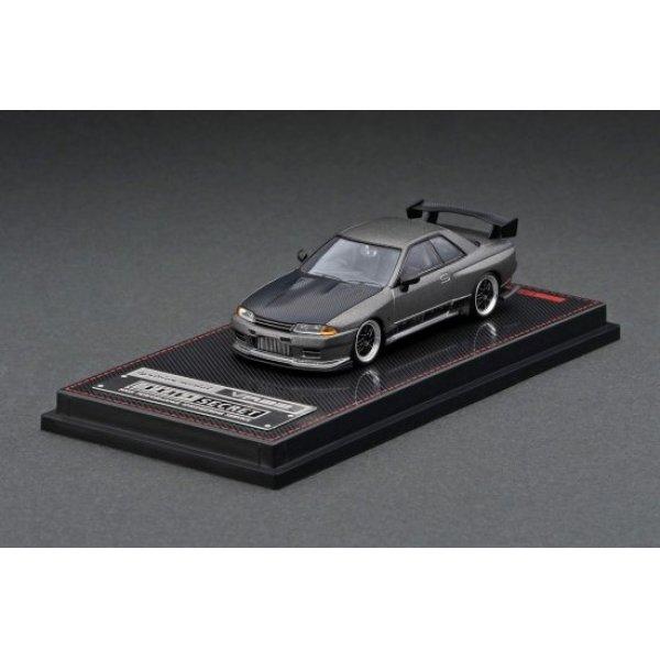画像1: ignition model 1/64 TOP SECRET GT-R (VR32) Titanium Gray
