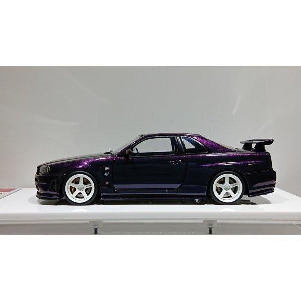 画像2: EIDOLON 1/43 NISSAN SKYLINE GT-R (BNR34) NISMO S-tune Midnight Purple 3