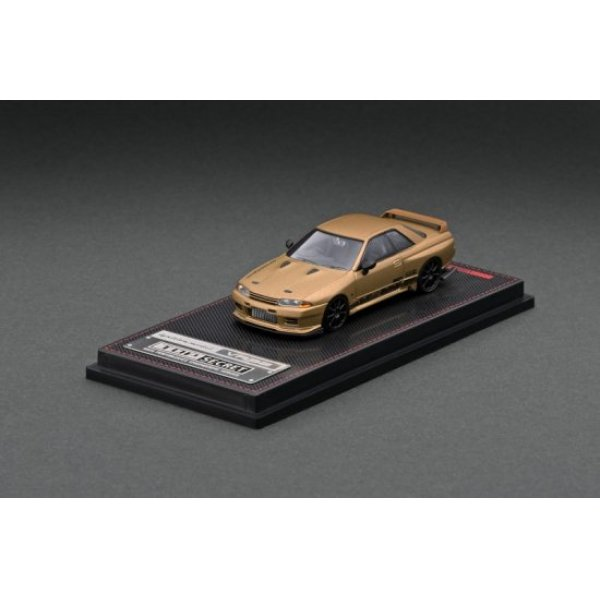 画像2: ignition model 1/64 TOP SECRET GT-R (VR32) Matte Gold