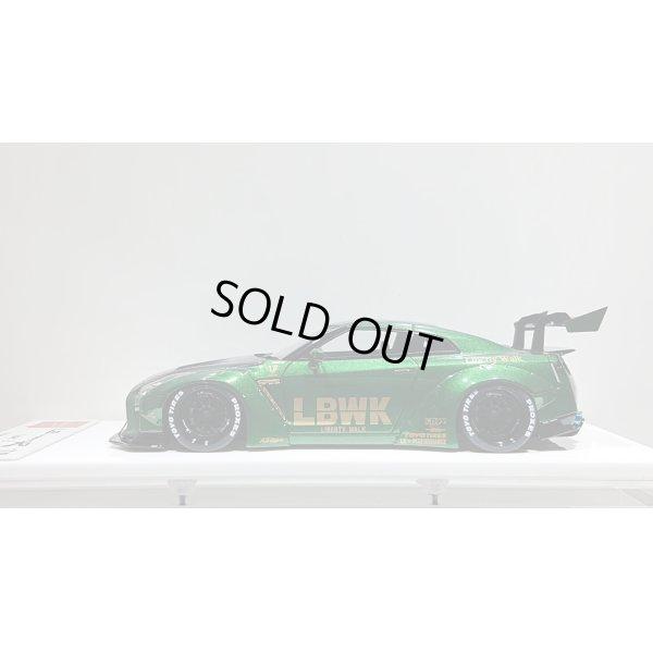 画像2: EIDOLON 1/43 LB WORKS GT-R Type 1.5 LB-Silhouette GT Wing ver. Metallic Green