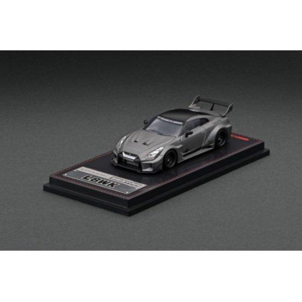 画像1: ignition model 1/64 LB-Silhouette WORKS GT Nissan 35GT-RR Titanium Gray