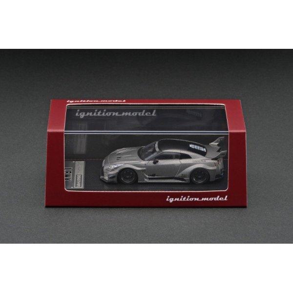 画像3: ignition model 1/64 LB-Silhouette WORKS GT Nissan 35GT-RR Titanium Gray