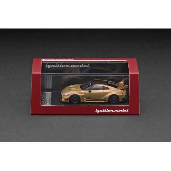 画像3: ignition model 1/64 LB-Silhouette WORKS GT Nissan 35GT-RR Matte Gold