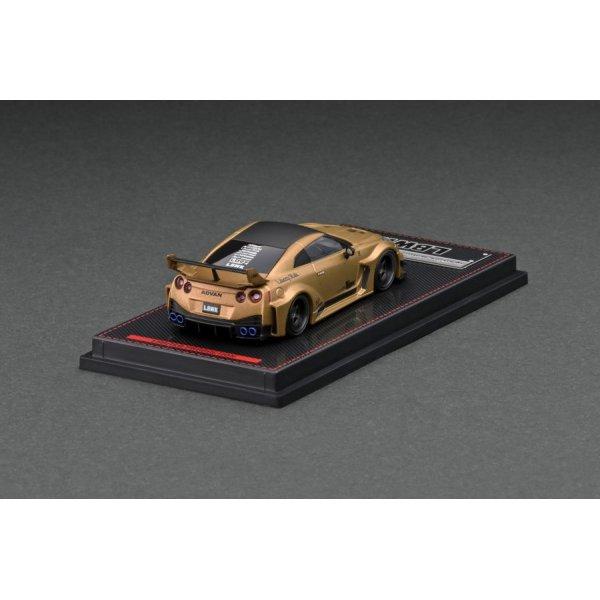 画像2: ignition model 1/64 LB-Silhouette WORKS GT Nissan 35GT-RR Matte Gold
