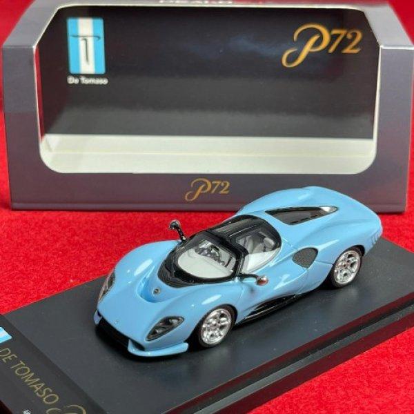画像3: PEAKO Models 1/64 De Tomaso P72 Blue