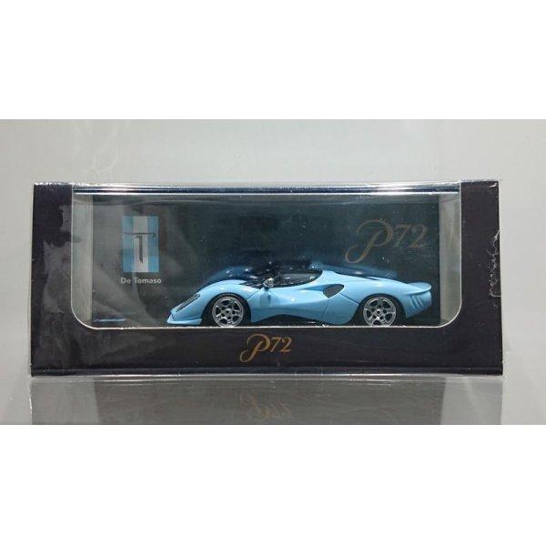 画像1: PEAKO Models 1/64 De Tomaso P72 Blue