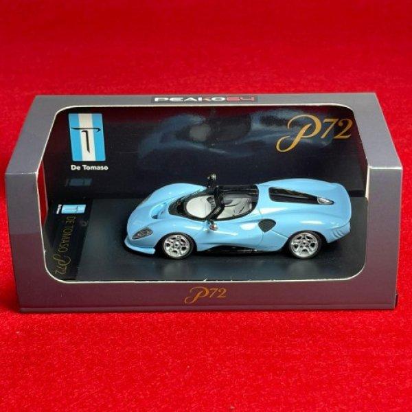 画像4: PEAKO Models 1/64 De Tomaso P72 Blue