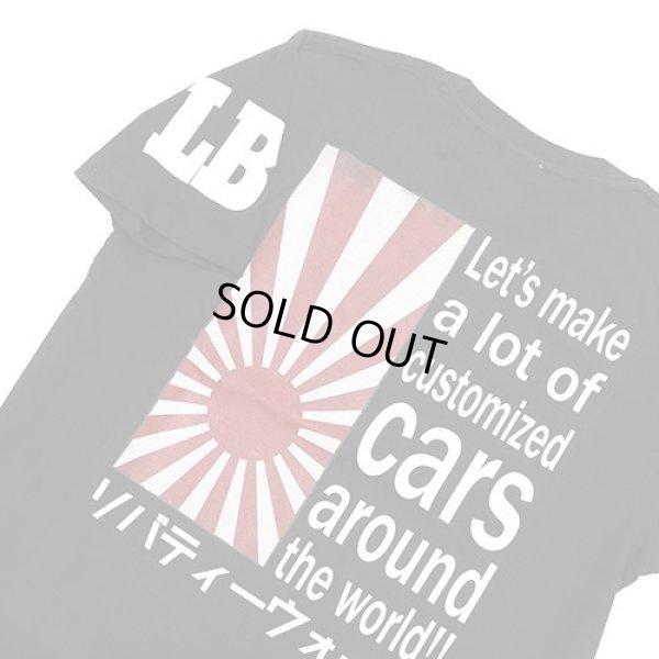 画像3: LIBERTY WALK 日章カスタム BK Tee XLサイズ