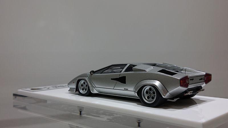 Eidolon 1 43 Lamborghini Countach Lp400s 1978 Silver Axellworks